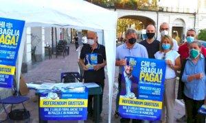 Riforma della giustizia, riprende la raccolta firme della Lega in provincia di Cuneo