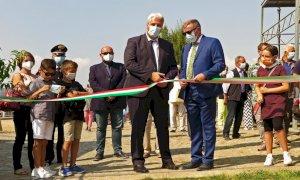 Anche il presidente della Provincia Borgna alla mostra delle produzioni agricole a Rivoira di Boves