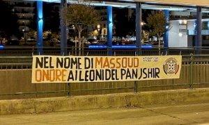 Striscioni di CasaPound a Cuneo e Alba in onore ai combattenti afghani del Panjshir
