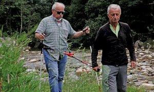 Da Vernante un'invenzione che consente ai non vedenti di praticare l'escursionismo