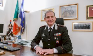 Il colonnello Del Gaudio saluta la Granda: