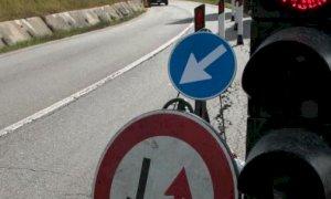 Da domani senso unico alternato per lavori sulla provinciale da San Rocco verso Bernezzo