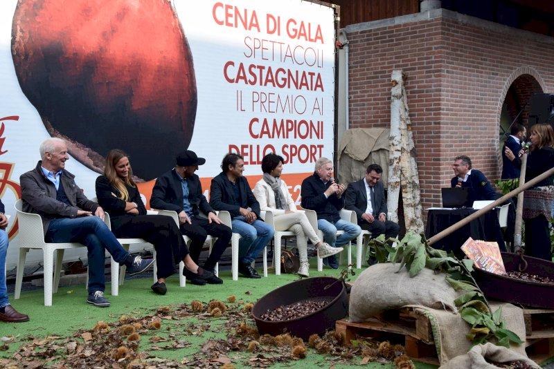 """Irma Testa, Ambra Sabatini e Davide Mazzanti ospiti del """"Galà della Castagna d'Oro"""""""