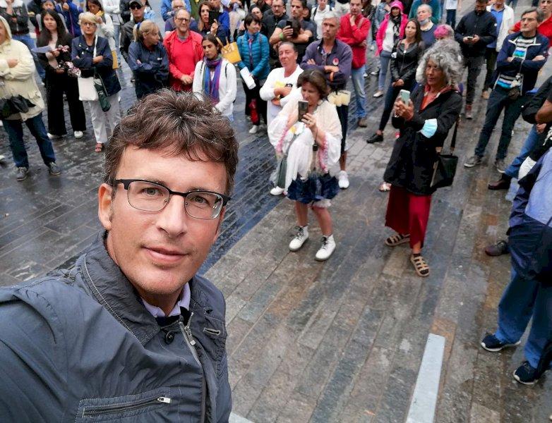 Diego Fusaro sarà a Cuneo per la manifestazione no green pass
