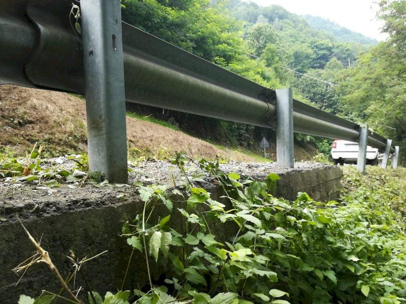 Cantieri stradali della Provincia a Cavallermaggiore, Revello e in valle Varaita