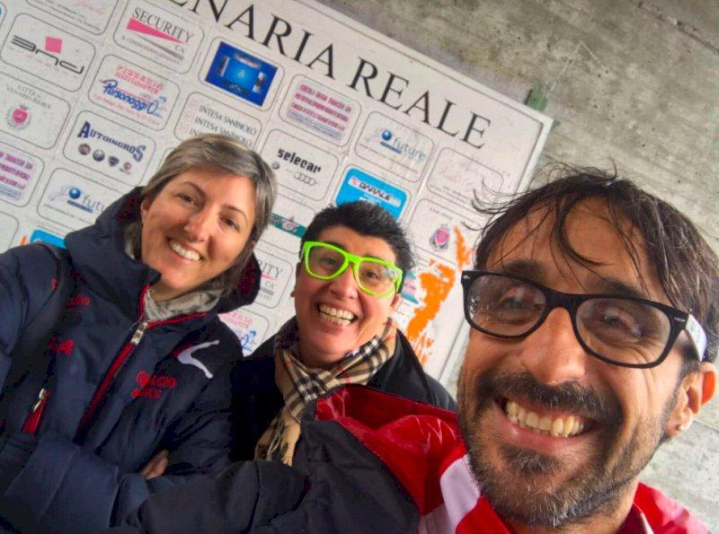 Alesandra Witzel (da sinistra), con Eva Callipo e Luca Vargiu