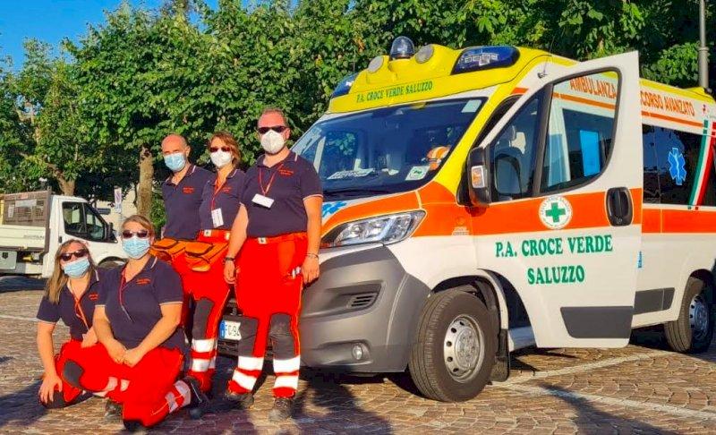 Saluzzo ringrazia la Croce Verde dai 300 volontari con la cittadinanza onoraria