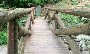 Valle Pesio, interrotto il sentiero ad anello delle cascate del Saut