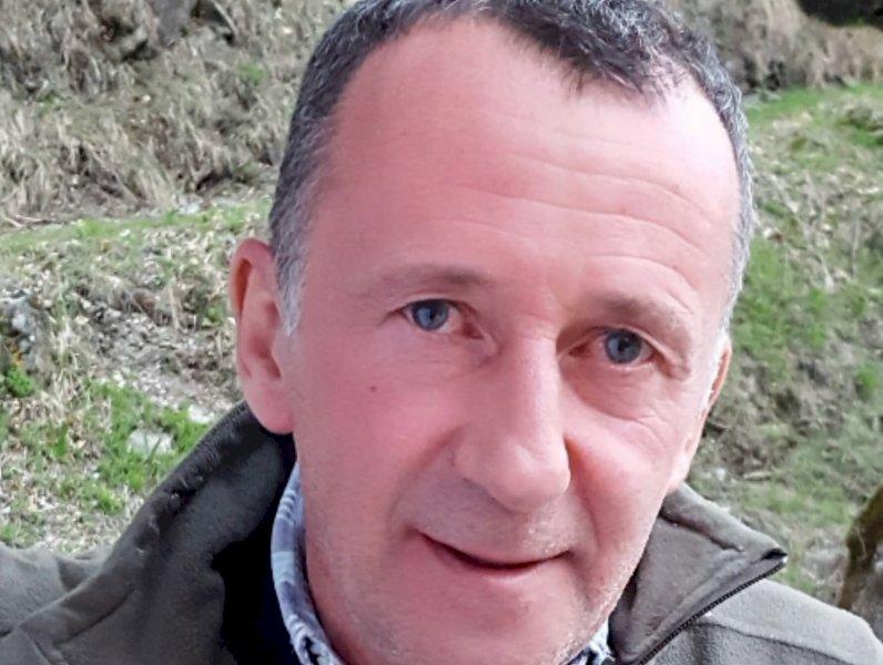 Sampeyre piange Piero Valla, stroncato da un malore a 56 anni