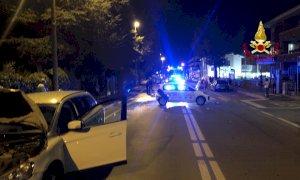 Cuneo, corso Francia chiuso al traffico per un incidente tra quattro auto