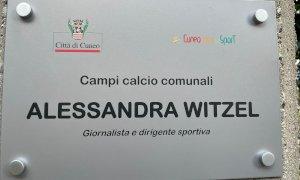 I campi del Parco della Gioventù ufficialmente intitolati ad Alessandra Witzel