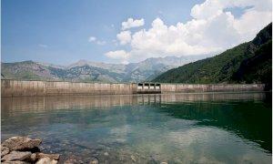 Entracque, iniziano oggi le operazioni di riduzione del livello del bacino della Piastra