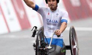 La Castagna d'Oro 2021 all'handbiker cuneese Diego Colombari