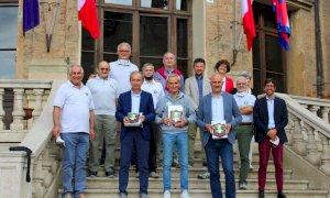 Bra, ricevuto in Comune il portacolori dell'Unione Nazionale Veterani dello Sport Alessandro Marengo