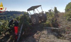 Incidente in una vigna a Clavesana, muore un 56enne