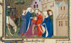 """Dopo oltre 600 anni torna a Saluzzo da Parigi lo """"Chevalier Errant"""""""