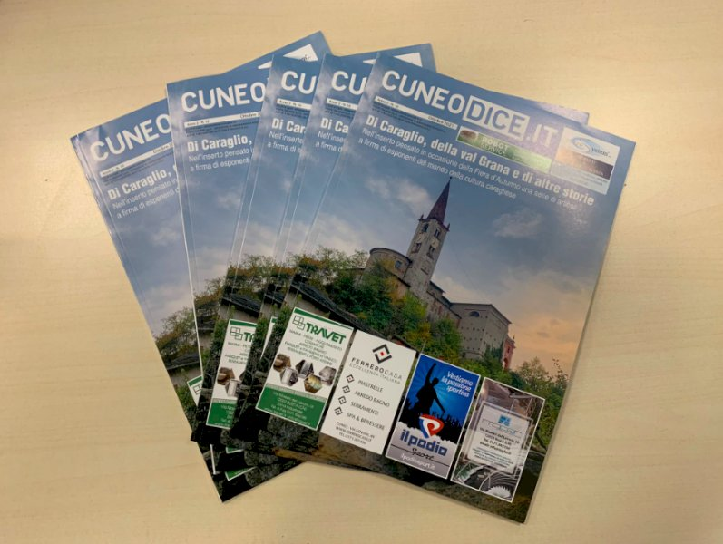 In arrivo nelle case degli abbonati il numero di ottobre della rivista di Cuneodice.it