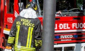 Perdita di gas in strada a Costigliole Saluzzo, intervengono i pompieri