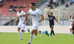 Calcio, primo gol tra i professionisti per Patrick Enrici