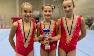 Cuneoginnastica, bronzo nel campionato regionale di squadra