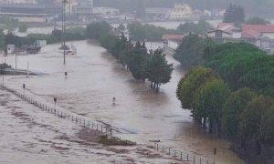 Allerta Rossa per maltempo sul Piemonte centro-orientale, paura per le valli Belbo e Bormida