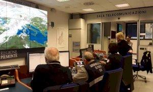 Maltempo, la sala operativa regionale della Protezione Civile aperta 24 ore su 24