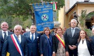 Borgna a Vievola per ricordare l'alluvione del 2020 e per rilanciare i progetti di ricostruzione
