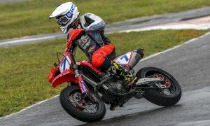 Supermoto, Mauro Cucchietti è terzo agli Internazionali d'Italia