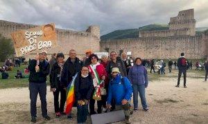 Delegazione braidese alla Marcia per la Pace Perugia-Assisi