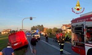 Auto contro furgone a Magliano Alpi: una donna ricoverata in ospedale