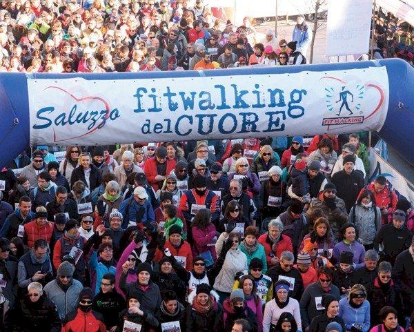 A gennaio il Fitwalking del Cuore di Saluzzo torna in presenza