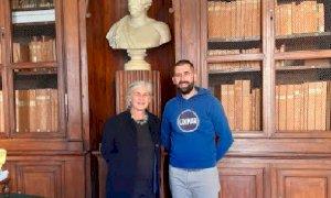 La conservatrice della biblioteca di Francia ha visitato 'in incognito' i Fondi Storici di Saluzzo