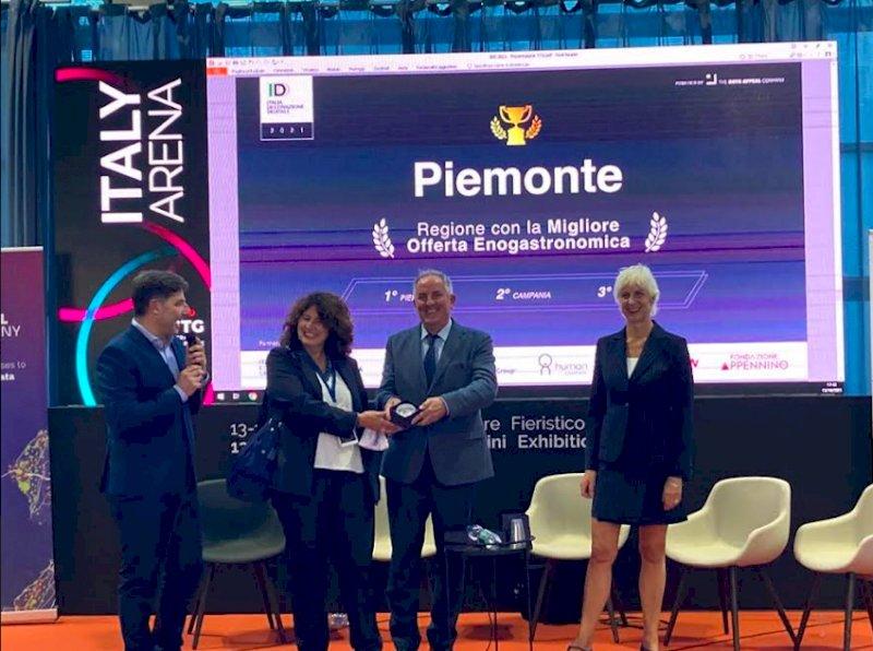 Al Piemonte l'Oscar del turismo enogastronomico in Italia e il terzo posto per la reputazione online