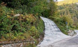 Valmala, nuovi asfalti sulle strade per le borgate