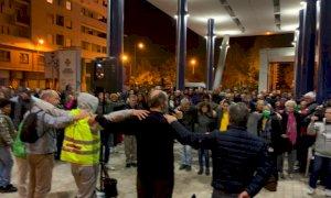 Cuneo, nuova manifestazione alla vigilia dell'entrata in vigore dell'obbligo del Green pass per lavorare