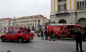 Forte odore di gas nel centro di Cuneo: gli accertamenti dei Vigili del Fuoco
