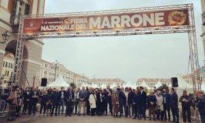 È iniziata l'edizione 2021 della Fiera del Marrone di Cuneo