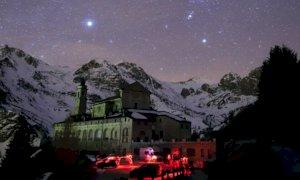 A due passi da casa uno degli ultimi 'cieli neri' delle Alpi Occidentali: è buio come nel deserto