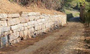 Rifreddo, nuove scogliere e canaline per proteggere via Devesio ed il Combale Flesia