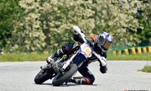 Pit Bike, stagione sfortunata per Francesca Cagna