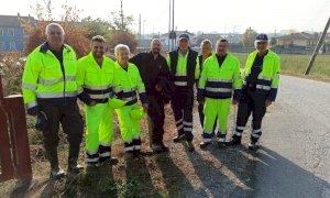 Busca, la Protezione civile al lavoro in frazione San Quintino