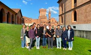 Studenti dell'Università del Kansas in viaggio studio a Bra