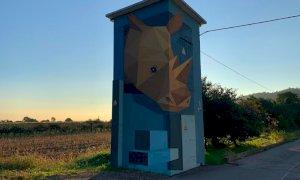 Su Sky Arte il nuovo format dedicato alla street art sulle cabine elettriche, c'è anche Piasco