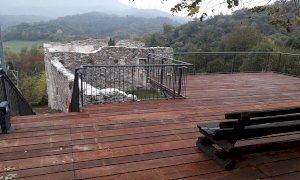 Restaurata la piattaforma panoramica del Castlà a Chiusa Pesio