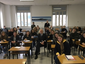 Beppe Ghisolfi all'Istituto Salesiano di Borgomanero