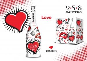 La Love Bottle di 958 Santero per San Valentino