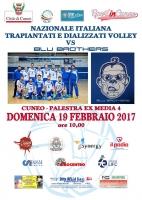 """La Nazionale Italiana trapiantati e dializzati Volley scende in campo con i """"Blu Brothers"""""""