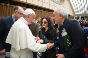 L'Aipec incontra Papa Francesco per i 25 anni dell'Economia di Comunione