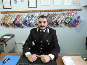 È Daniele Dimartino il nuovo Comandante della Stazione di San Michele Mondovì