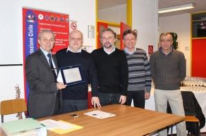 Alba, l'Amministrazione comunale ha ringraziato e salutato Giuseppe Pio Presidente dell'ATC CN4 Alba - Dogliani per 27 anni